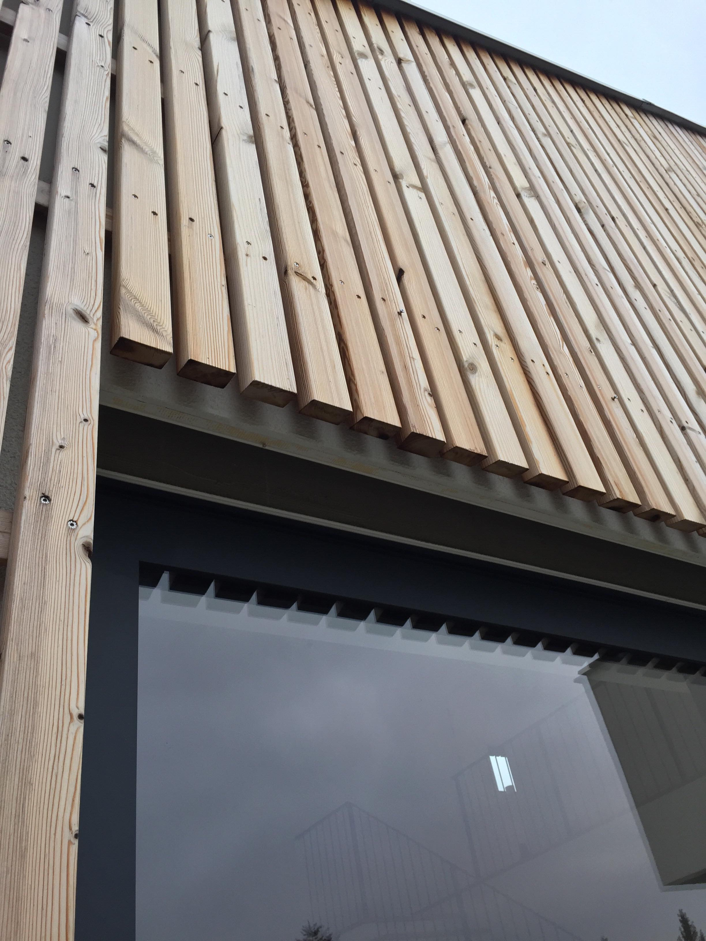 Wood facade: YES or NO?